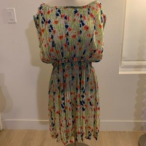 Floral Baraschi dress from Anthropologie in size M